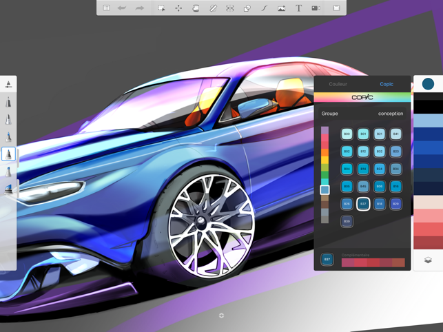 ‎Autodesk SketchBook Capture d'écran