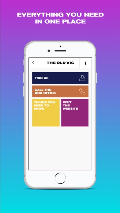 The Old Vic App screenshot three
