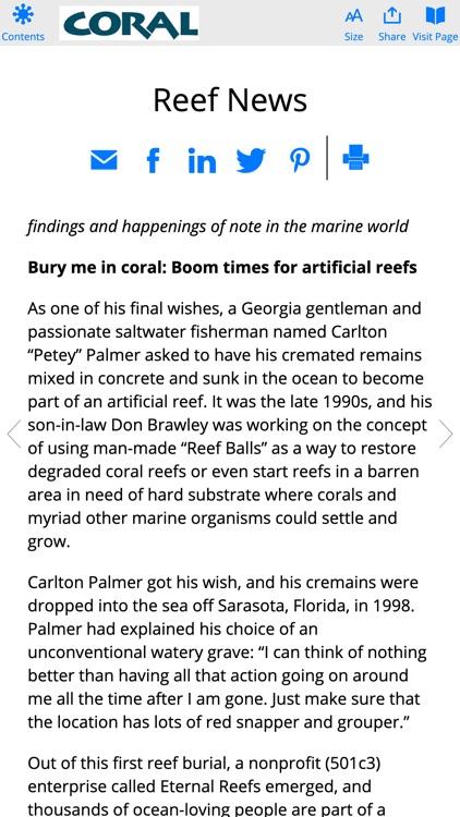 Coral Magazine screenshot-5