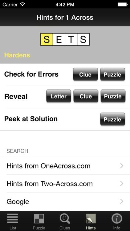 Crosswords Classic screenshot-3