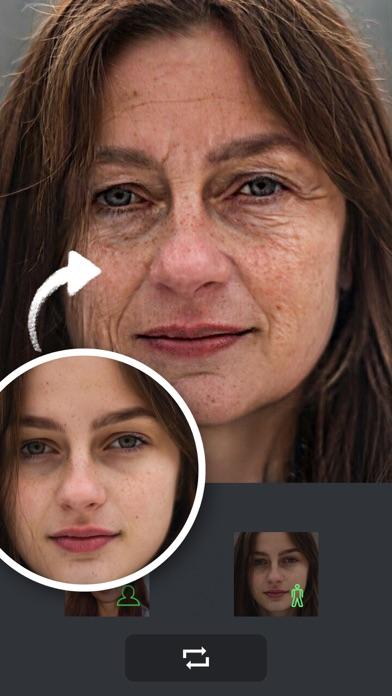 老け顔アプリ-顔変換アプリのおすすめ画像1
