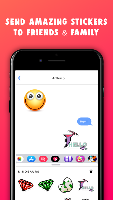 Stickers · Emojis & Sticker Screenshot