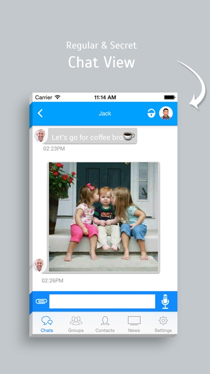 NiftyChat - Simple chat app