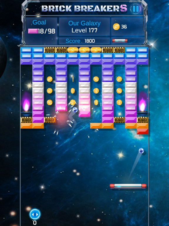 Brick Breaker : Space Outlaw screenshot 10
