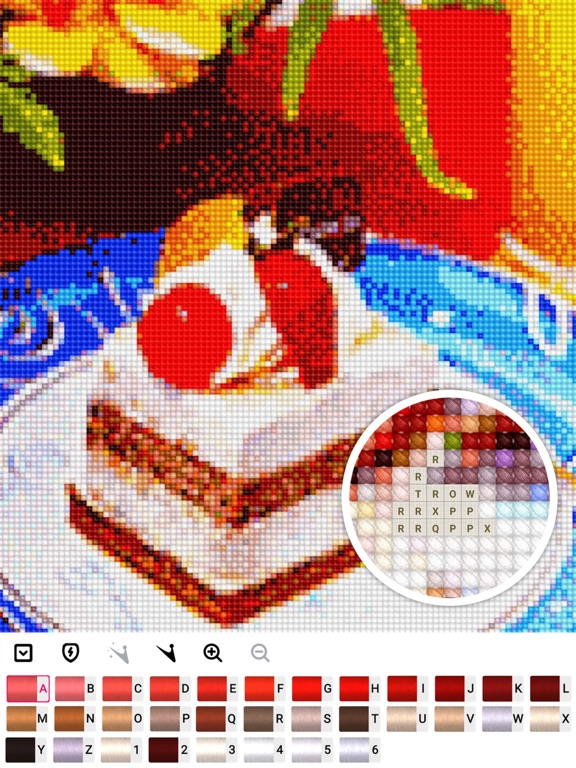 Cross stitch : Color by Letter screenshot 12