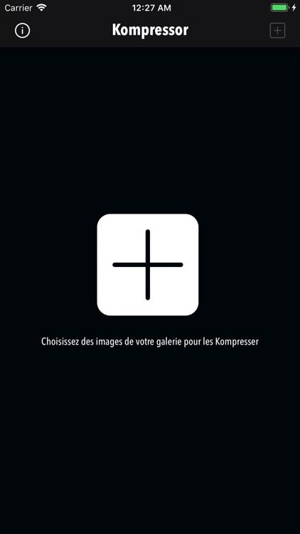 Kompressor - Compress images screenshot-0