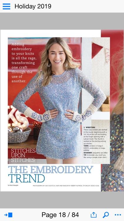 Knit Simple Magazine screenshot-3
