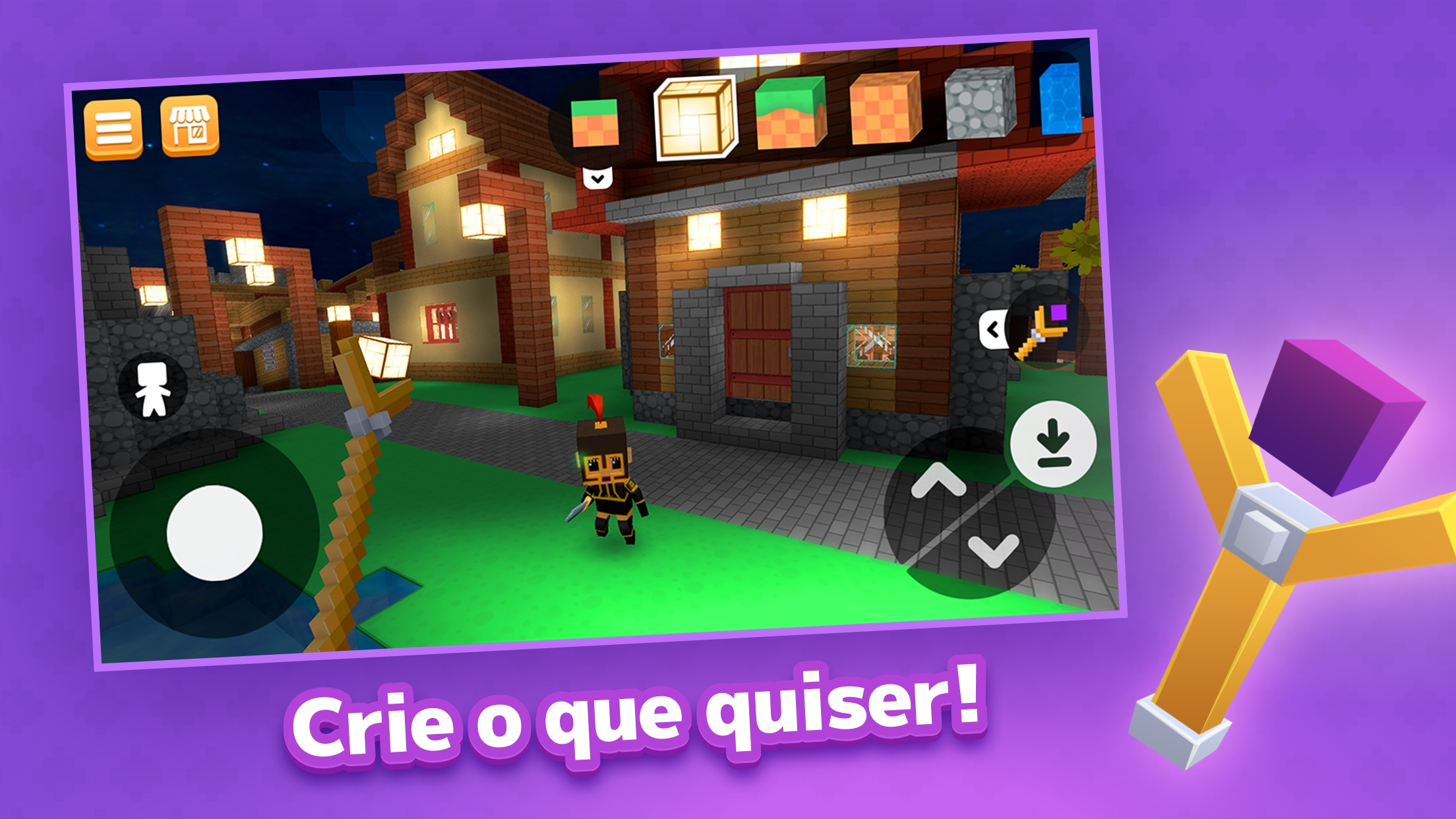 Screenshot do app Crafty Lands