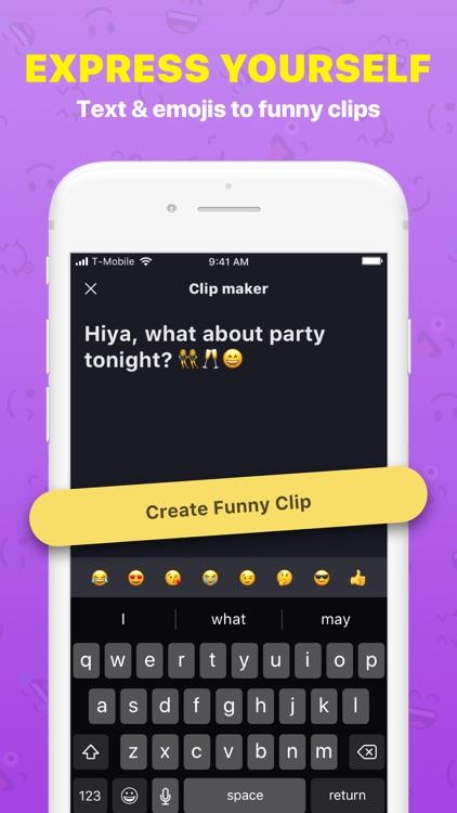 Funny Clip Maker screenshot-0
