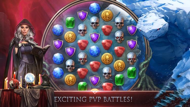 Gunspell 2- RPG Puzzle Match 3 screenshot-3