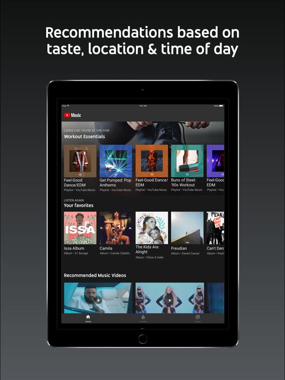 YouTube Music-ipad-1
