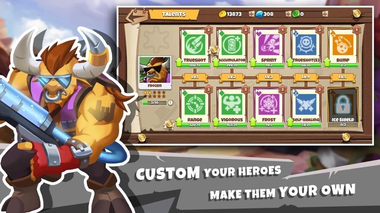West Legends: 3v3 Team Battle screenshot-3
