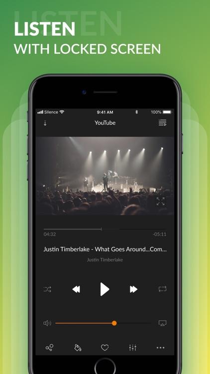 Silence Music: Streaming Music screenshot-5