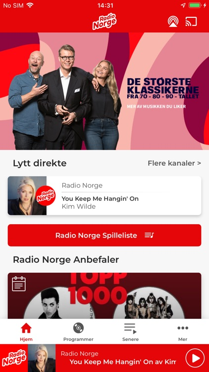 Radio Norge screenshot-0