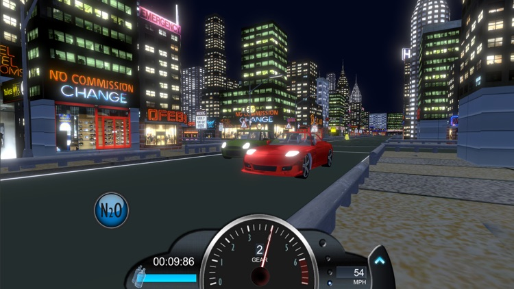 Drag racing game Nitro Rivals screenshot-5