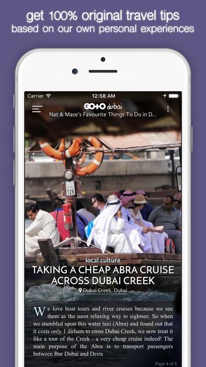 Dubai Travel Guide & City Maps screenshot-3