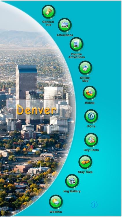 Denver Offline Map  Guide