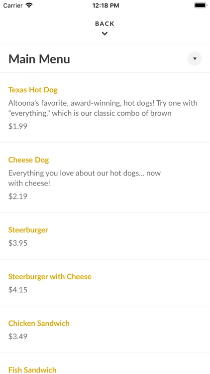 Texas Hot Dogs