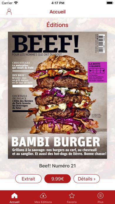 BEEF! Magazine Screenshot