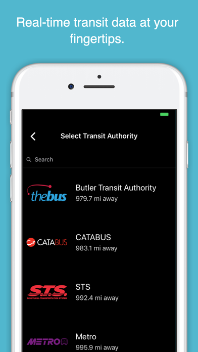 Screenshot for myStop Mobile in United States App Store