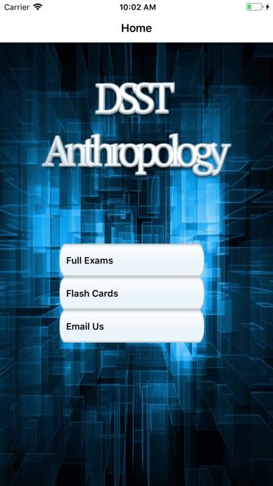 DSST Anthropology Buddy screenshot 1