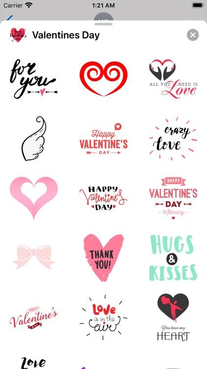 Valentines Day Stickies Emojis