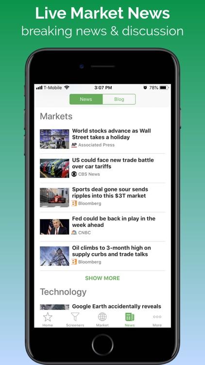 Stock Tracker - Stocks Market screenshot-4