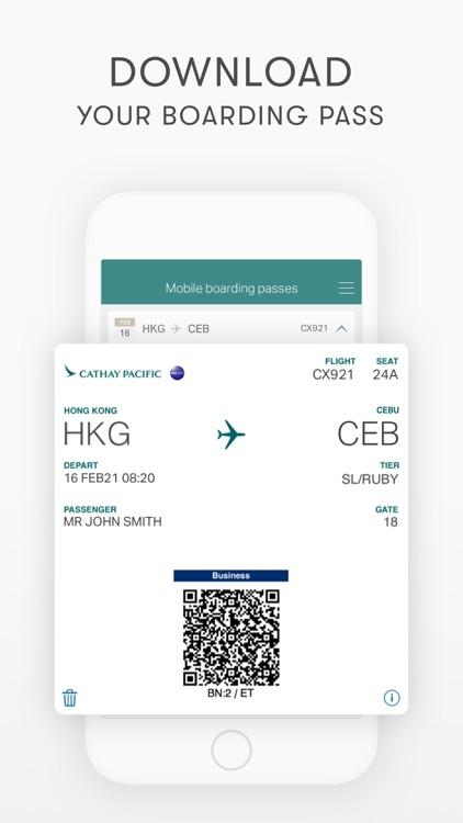Cathay Pacific screenshot-6