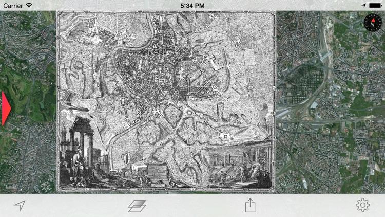 Nolli - Navigate Rome in 1748 screenshot-3