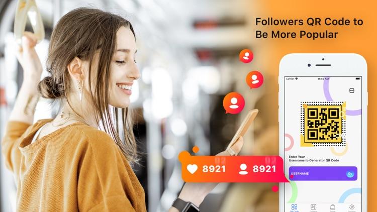Get Followers QR for Instagram