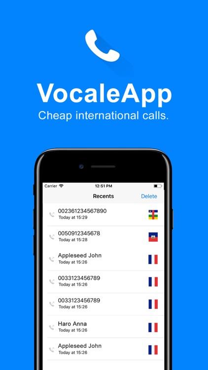 VocaleApp - Cheap calls