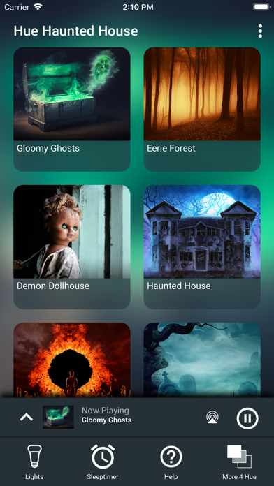 Hue Haunted House screenshot one
