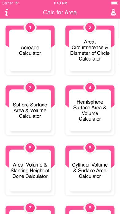 Calc For Area screenshot 2