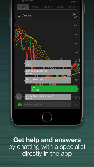 thinkorswim: Buy  Sell  Trade  iOS Application Version 187