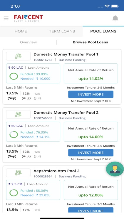 Faircent - P2P Investment screenshot-4