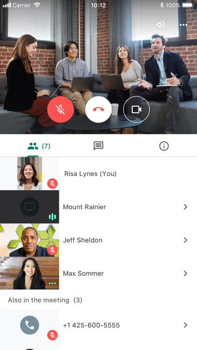 Hangouts Meet by Google app image