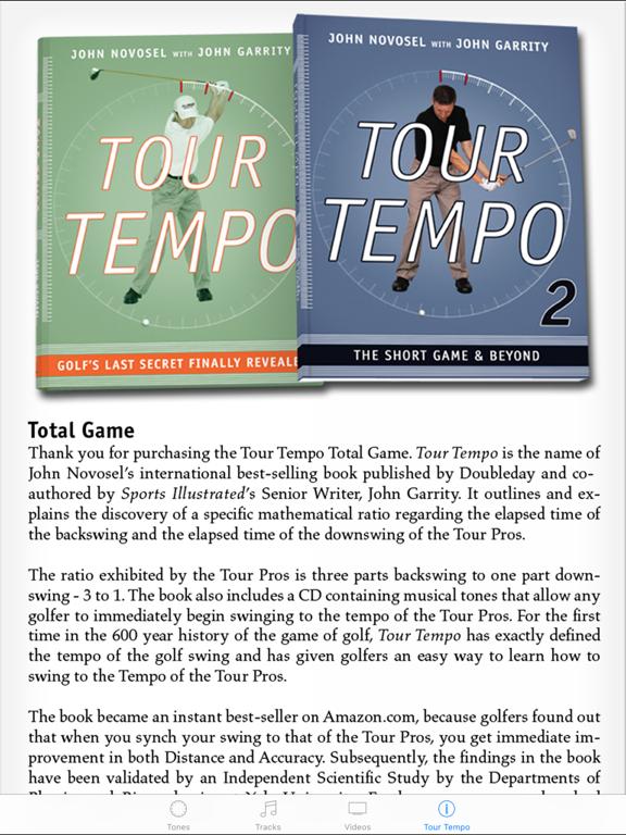 Tour Tempo Total Game Screenshots