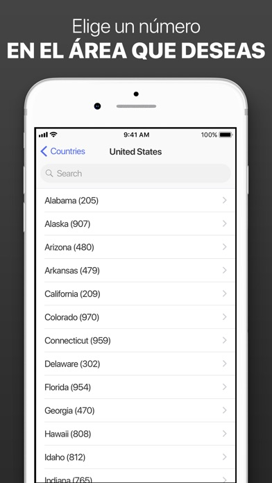Screenshot for Segundo número de telefóno in Colombia App Store