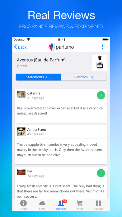 messages.download Parfumo software