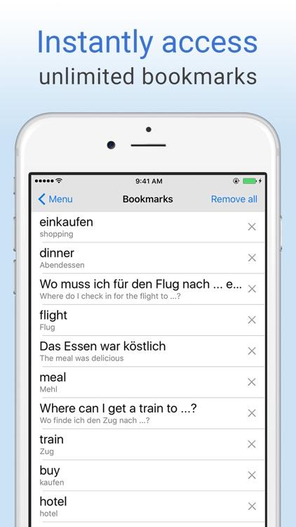 English-German Dictionary. screenshot-3