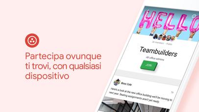 Screenshot for Google+ per G Suite in Italy App Store