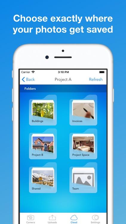UploadCam - Organize photos