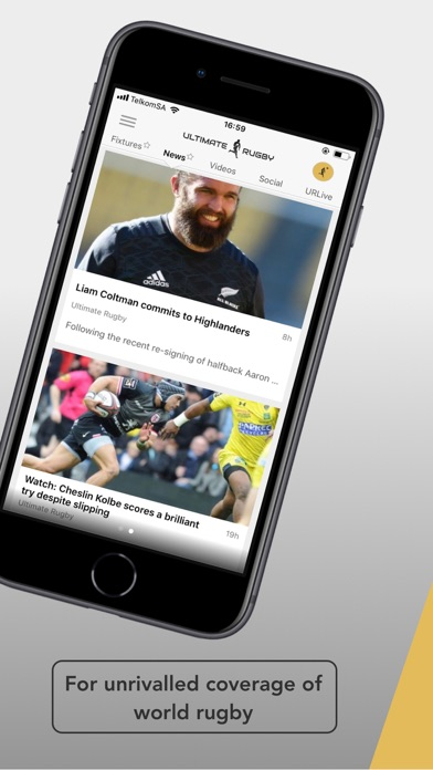 Screenshot for Ultimate Rugby Pro in United Arab Emirates App Store