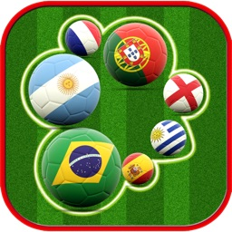 AAA Guess Flag ~  Football Soccer 2K15 Team Quiz Trivia