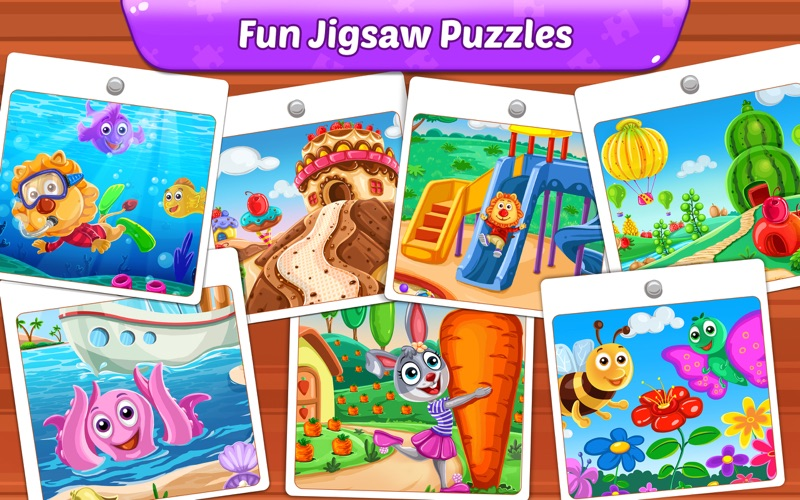 Puzzle Kids - Jigsaw Puzzles for Mac