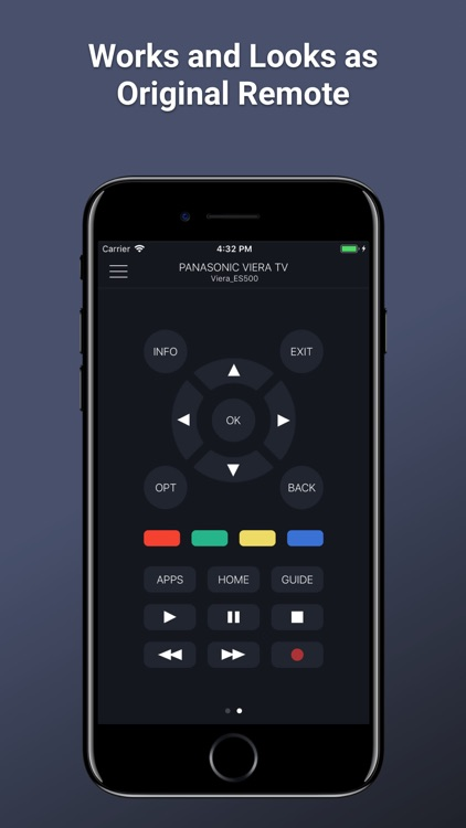 PanRC - Panasonic TV Remote by Kraftwerk 9 Inc
