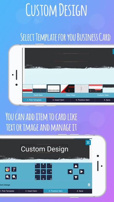Screenshot of iBusiness Card Maker6