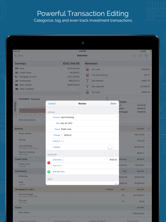 Banktivity – Personal Finance Screenshots