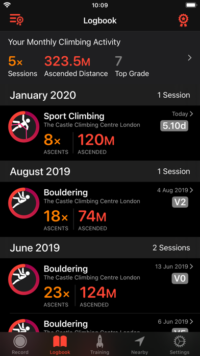 Redpoint: Bouldering & Climb screenshot one