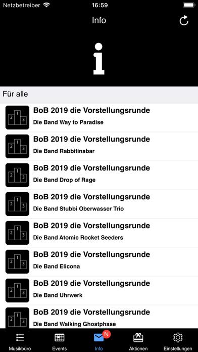 Screenshot #3 pour Musikbüro Saar